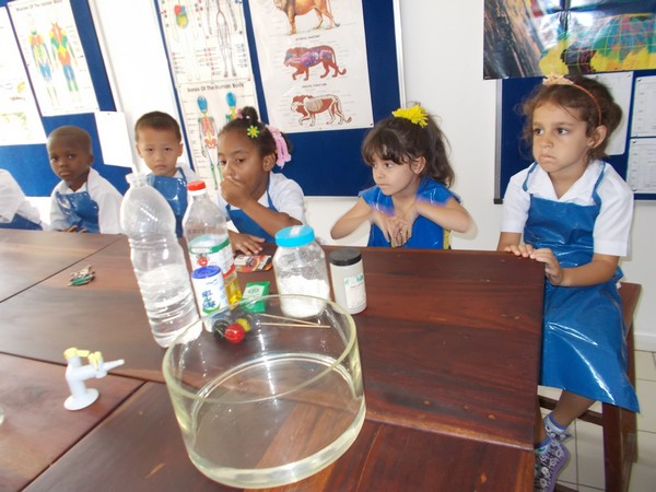 Our Reception class in the lab.